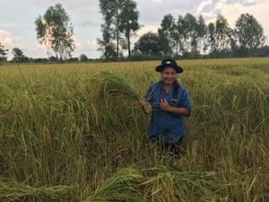 Farm leader Duangchan Witchalin