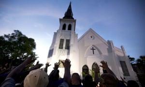 The Emanuel AME church in South Carolina.