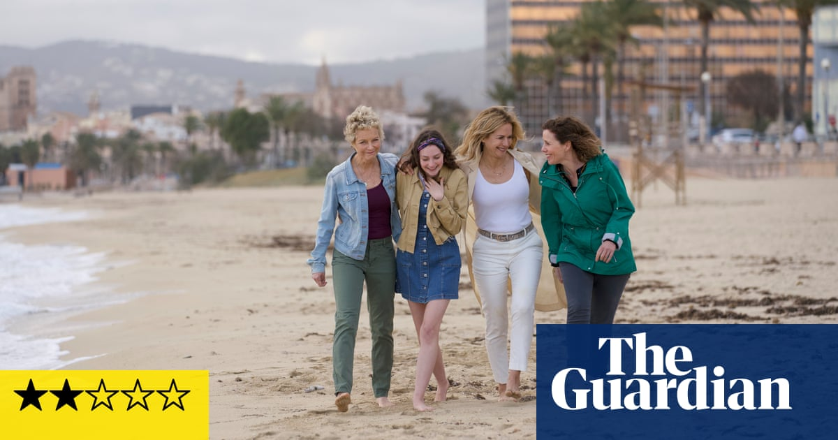 Off the Rails review – Blondie-powered interrailing comedy is a feelgood trainwreck