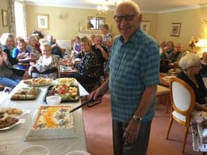 Warner Court residents have their cake after taking control of their block.