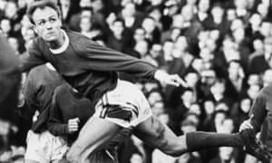 Don Howe playing for Arsenal in 1966.