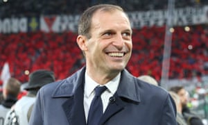 Max Allegri has been out of work since leaving Juventus in the summer.