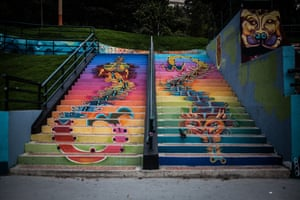 Stairway to graffiti heaven: nowhere is safe from the street artists' spray cans