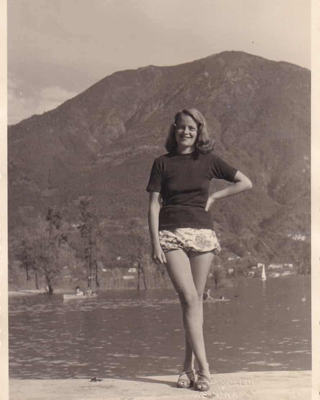 Evelyn Lipmann after the war.