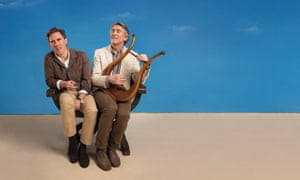 Rob Brydon (left) and Steve Coogan in 2020