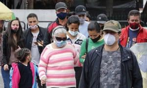 People in Bogota