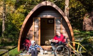 North-Lees Campsite, Derbyshire