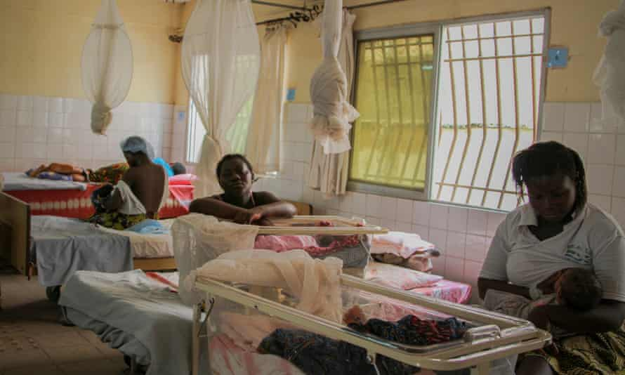 The Aberdeen Women's Centre in Freetown, founded by a British philanthropist, has become a beacon for best practice for maternity wards in Sierra Leone on 20 June 2015.
