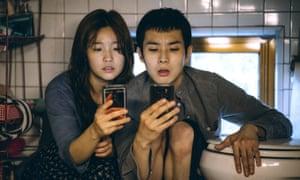 So-Dam Park and Choi Woo-Shik in Parasite