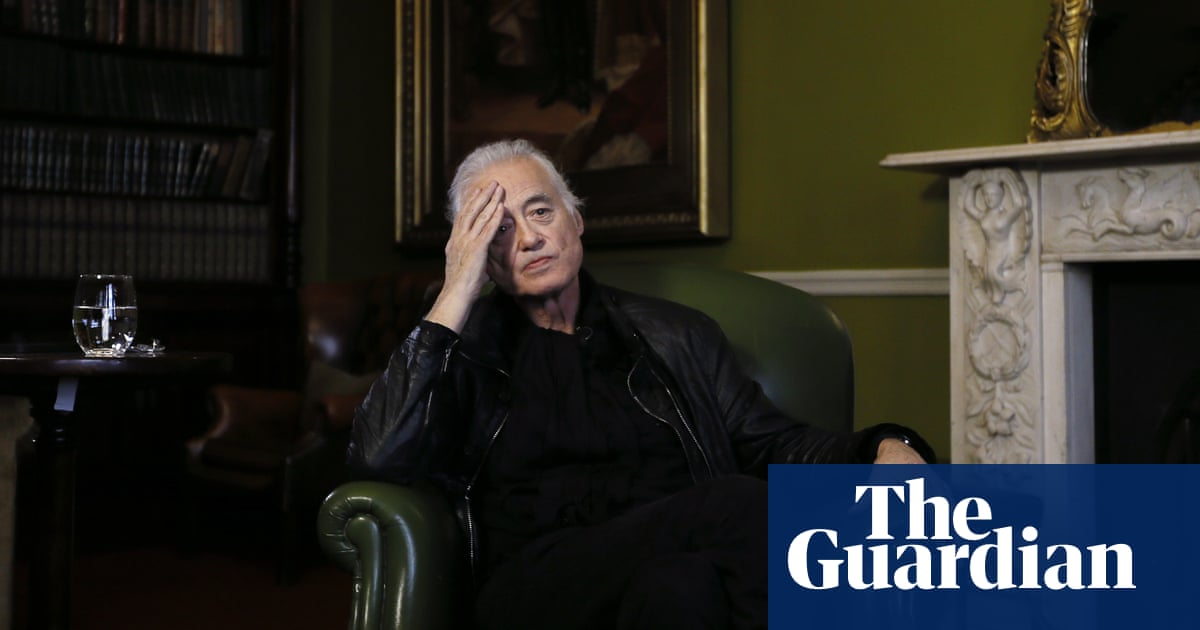 Jimmy Page: 'Robert and I went to see the Damned  He'd probably run
