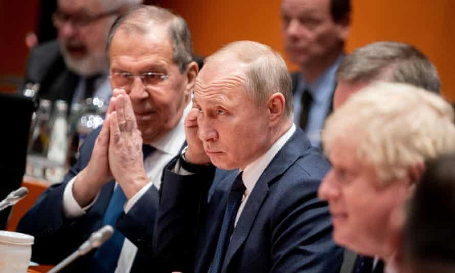 Putin and Johnson