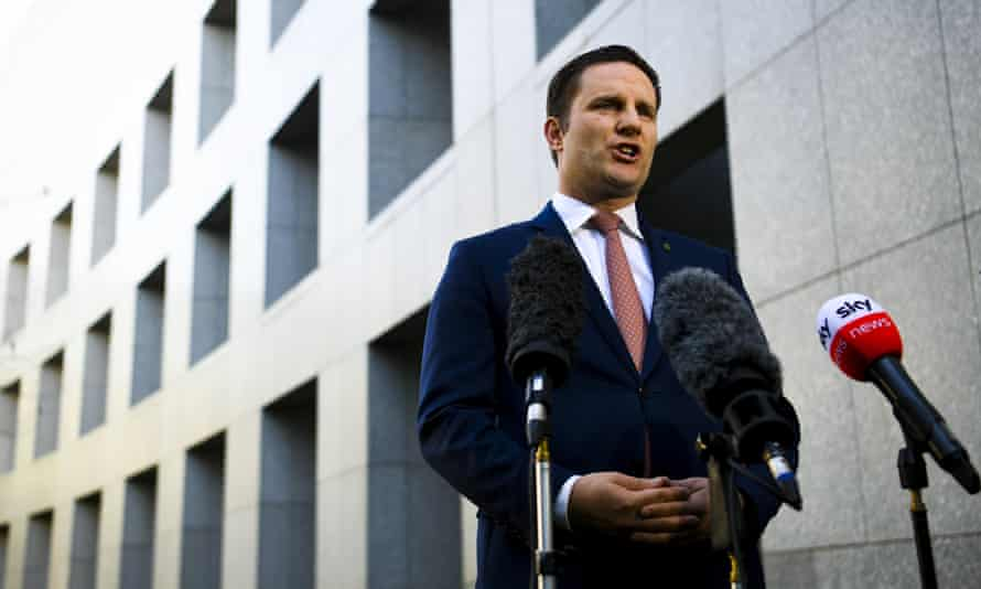 The immigration minister, Alex Hawke