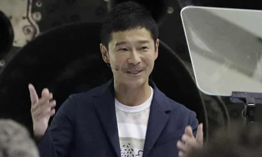 Yusaku Maezawa could be the first private passenger to make a trip around the moon.