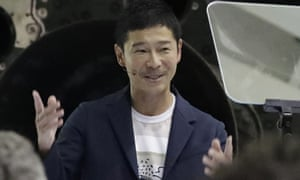 Japanese billionaire Yusaku Maezawa has been named as the first private passenger on Elon Musk's trip around the moon.