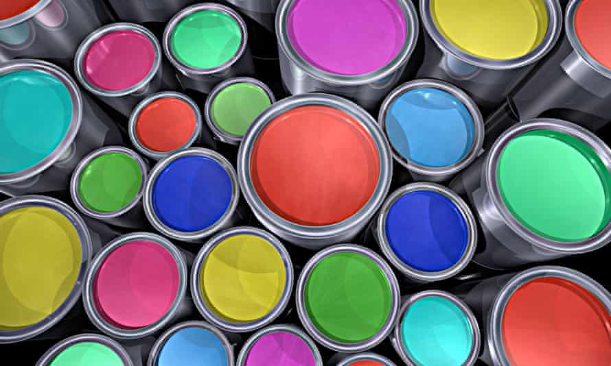 Titanium dioxide (TiO2) is found in a vast array of paints