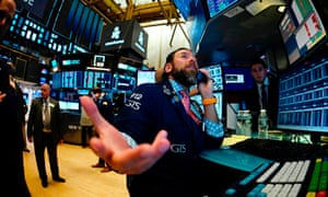 Traders work after the opening bell at the New York Stock Exchange on Thursday.