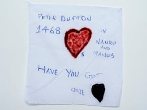 A detainee on Nauru asks whether immigration minister Peter Dutton has a heart