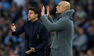 Mauricio Pochettino and Pep Guardiola will meet again on the Etihad touchline on Saturday, but the Spurs manager has a lengthy injury list to contend with.