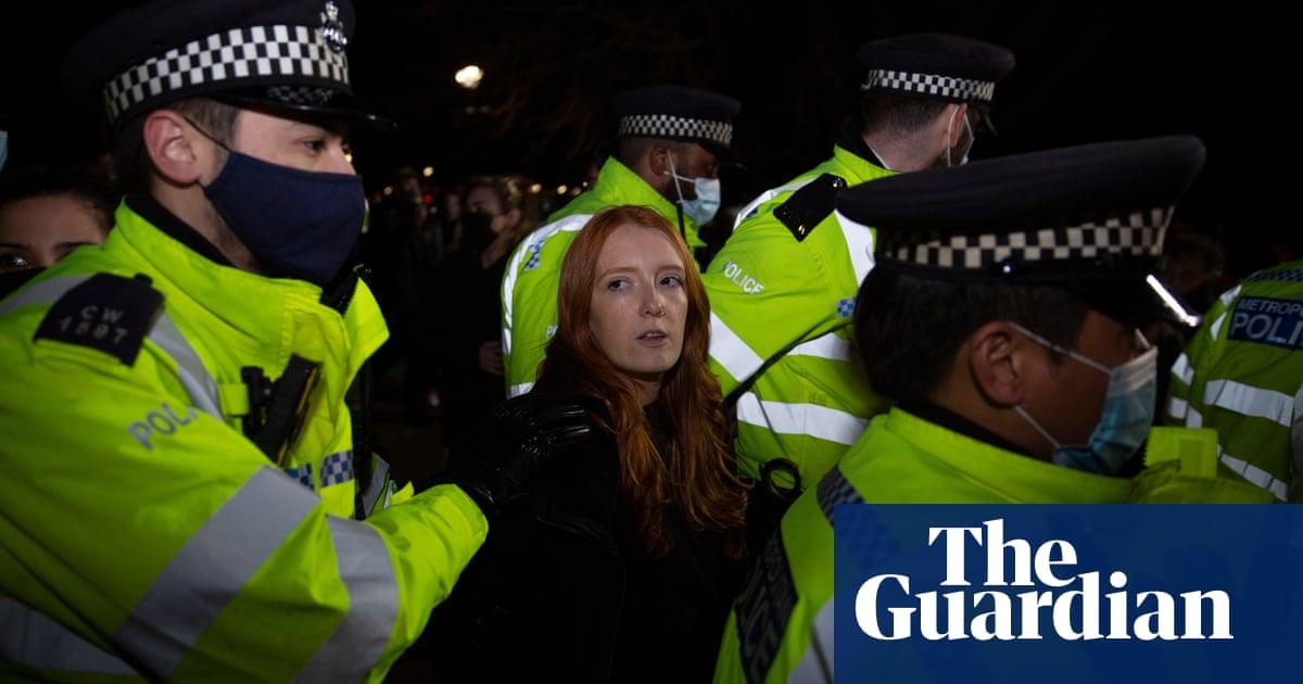 'I was horrified': the starkly varied police responses to Sarah Everard vigils