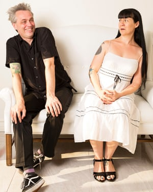 Producers Dan and Rhiannon of Anatomik Media, photographed on location near Los Angeles