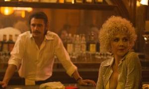 Maggie Gyllenhaal with James Franco in The Deuce