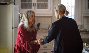 Lin Shaye and the 'terrific' Andrea Riseborough in The Grudge.