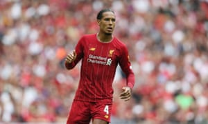 Virgil van Dijk was previously the world's most expensive defender.