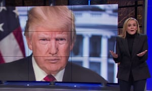 'Whether we like it or not, Trump is a money-making juggernaut. This should scare the crap out of his opponents' ... Samantha Bee