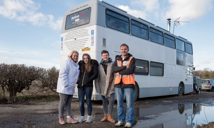 Can converted buses help people find a route out of homelessness