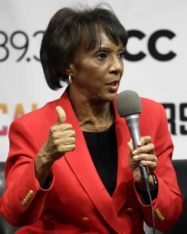 Jackie Lacey, the Los Angeles county district attorney.