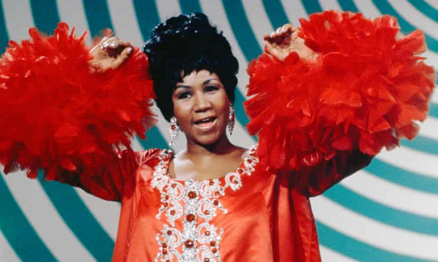 Aretha Franklin on The Andy Williams Show in 1969.
