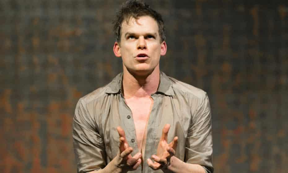 Hall as Thomas Newton in Lazarus.