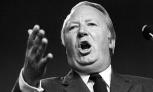 Prime minister Edward Heath in 1971