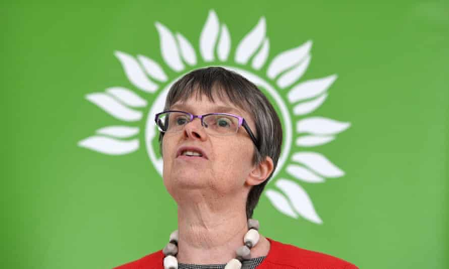 Green party campaigning ahead of the elections in Londonepa05940314 Green party Bristol West candidate, Molly Scott Cato also Green Member of the European Parliament (MEP) for the South West of England and Gibraltar, makes an announcement of the party's new Brexit policy in London, Britain, 02 May 2017. Voters go to the Polls in Britain on 08 June 2017 to elect a new Government. EPA/FACUNDO ARRIZABALAGA