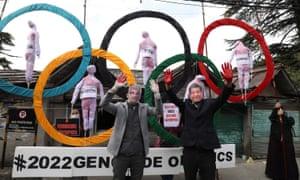 Nancy Pelosi calls for US diplomatic boycott of Beijing Winter Olympics | US news | The Guardian