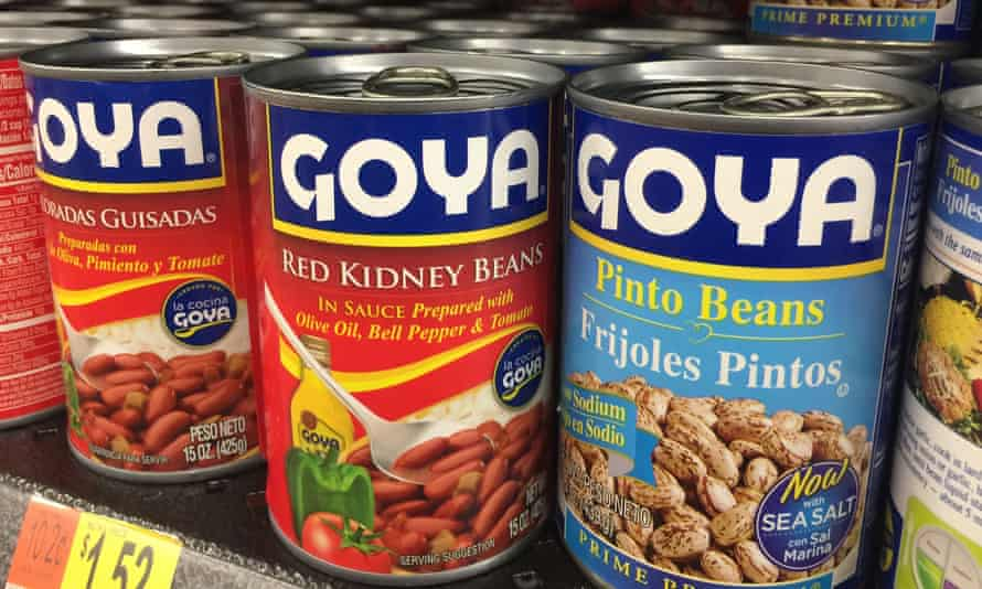 Goya products. CEO Robert Unanue called Donald Trump 'the real, legitimate and still actual president of the United States' at CPAC on Sunday.