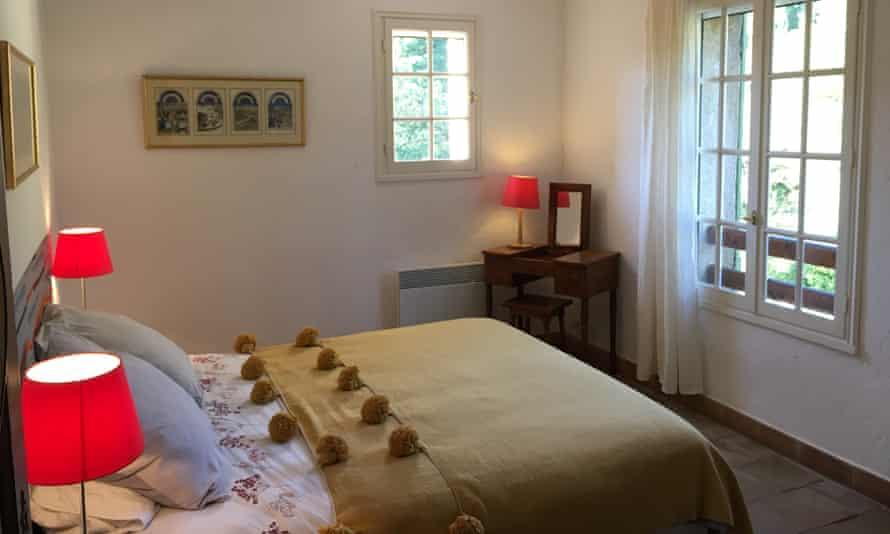 A bedroom at Villa Fontane
