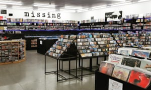 Missing Records shop in Glasgow