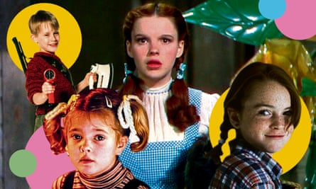 Child stars ... (clockwise from top left) Macaulay Culkin, Judy Garland, Lindsay Lohan, Drew Barrymore.