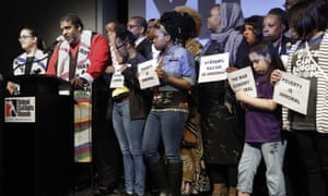 The Reverend William Barber, co-chair of the Poor People's Campaign