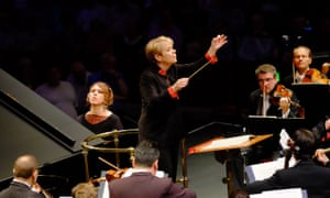 Marin Alsop conducts the São Paulo Symphony Orchestra, with Gabriela Montero on piano, for Prom 51 at the Royal Albert Hall, London.