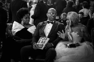 Viola Davis, husband Julius Tennon, and her Widows costar Cynthia Erivo