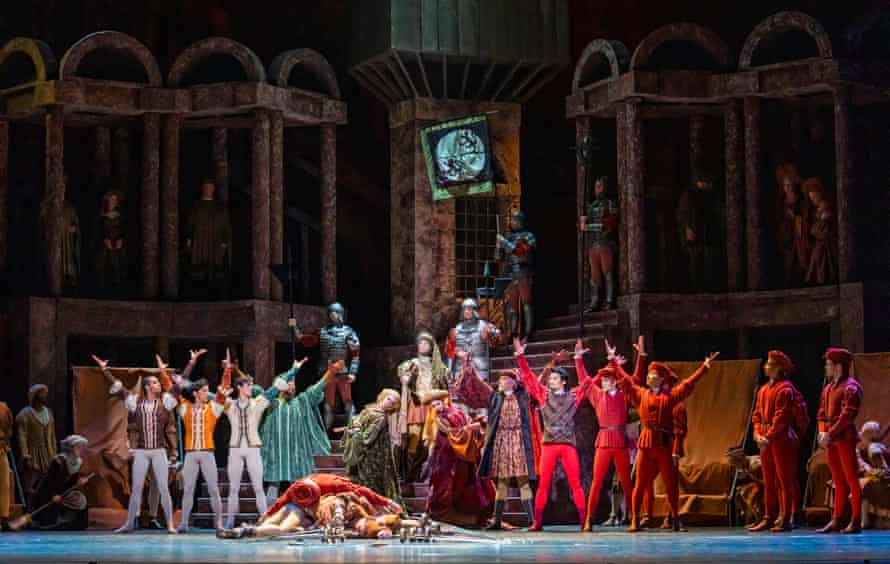 Loaded with detail … Romeo and Juliet at the Royal Opera House.