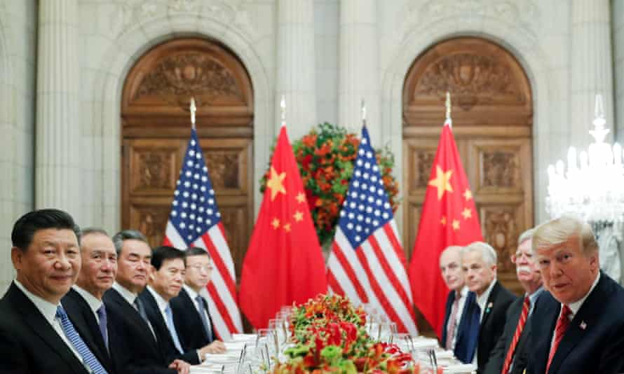 Donald Trump and Xi Jinping attend a working dinner after the G20 leaders summit in Buenos Aires