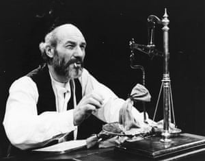 Patrick Stewart at Shylock in 1979