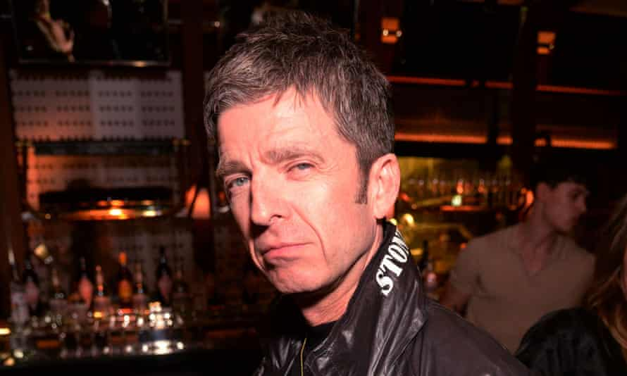 Noel Gallagher at a Brit awards after party in February 2020.