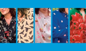 Noel Fielding's shirts.