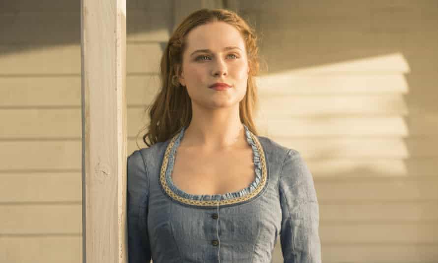 Reel robot from Westworld: Evan Rachel Wood as Dolores Abernathy