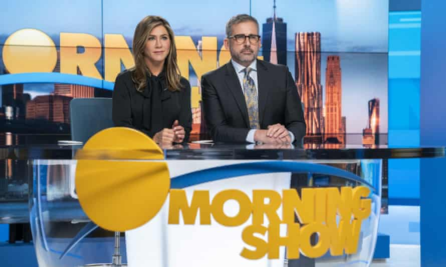 Jennifer Aniston and Steve Carell in The Morning Show