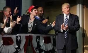 Donald Trump And Mike Pence campaign together In Wisconsin.